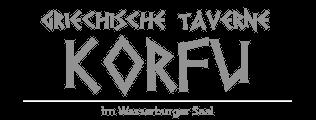 Taverne Korfu Dingolfing Logo